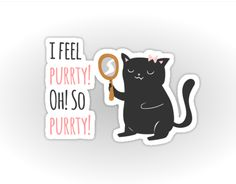 Who's feeling purrrrty today? ;)