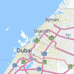 Look At Dubai City Map from Flickr