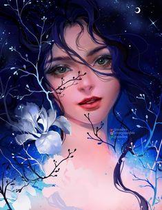 Fanart: San from Princess Mononoke by Jyundee on DeviantArt Art And Illustration, Girly Drawings, Art Drawings, Pretty Art, Cute Art, Arte Inspo, Beautiful Fantasy Art, Digital Art Girl, Digital Art Fantasy