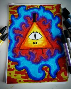 Bill Cipher->Gravity Falls