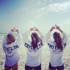Tri Delta Spirit Football Jerseys - White with Deep Indigo print