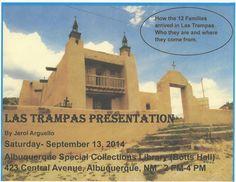 Las Trampas Presentation September 13, 2014 #Albuquerque #NewMexico #genealogy