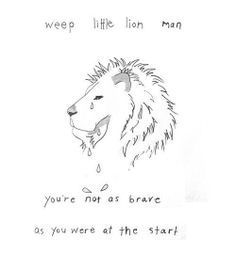 Brave Little Lion Man