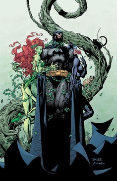 Ivy and Catwoman Jim lee