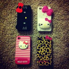 My Hello Kitty iPhone 4 Cases