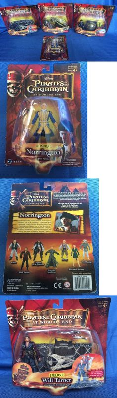 Pirates of the Caribbean 142334: Lot 4 Disney Pirates Of The Caribbean Worlds End Deluxe Figure Swann Turner Feng -> BUY IT NOW ONLY: $49.99 on eBay!