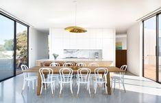 Sorrento House Cera Stribley Architects Photography by Emily Bartlett Dining Kitchen