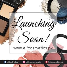 ELF Cosmetics is set to launch our official website in Pakistan filled with 100's of products to purchase from! Stay tuned for exciting discounts.