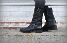 biker boots... inspired by the jimmy choo's!