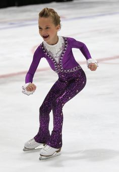 Custom Prince figure skating outfit. Learn more at http://sk8gr8designs.com