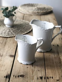 From our Provence range a gorgeous half litre measuring jug that you won't want to hide away in the cupboard. Classic design that fits in with many kitchen styles. Brick Molding, Old Bricks, Baskets On Wall, Provence, Accessories, Provence France