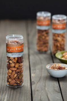 spiced nuts - a perfect treat for snack time. Fig Food, Spiced Nuts, Fig Recipes, Spices, Treats, Breakfast, Sweet Like Candy, Morning Coffee, Spice