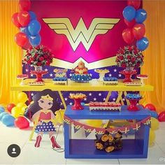 Wonder Woman Birthday, Wonder Woman Party, Girl Birthday, Popular Birthdays, Party Activities, Birthday Party Themes, Party Planning, Party Favors, Party Supplies