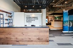 Platform by Aragon Properties - Free Agency Creative Sales Office, Co Working, Aragon, Quail, Design Projects, Vancouver, Signage, Environment, Typography