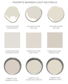 Warming Up Your Neutrals (elements of style) – Best Painting Neutral Paint Colors, Interior Paint Colors, Paint Colors For Home, Off White Paint Colors, Entryway Paint Colors, White Wall Paint, Benjamin Moore Winds Breath, Grant Beige Benjamin Moore, Room Colors