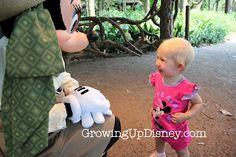 Baby's first encounter with Minnie