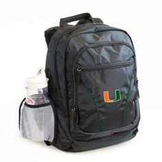 Miami Hurricanes Backpack