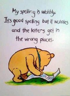 See... Even Pooh Bear can empathize.