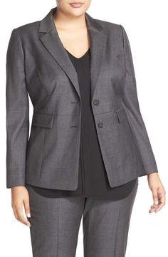 Classiques Entier® Superfine Wool Suit Jacket (Plus Size)