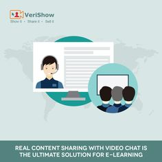 """""""We are moving away from traditional e-learning methods.  SaaS e-learning is the new way to teach on PC or Mobile."""" #eLearning #Cobrowsing #VideoChat #LiveChat #ContentSharing"""