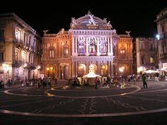 Teatro Massimo Bellini, Catania, Sicilia