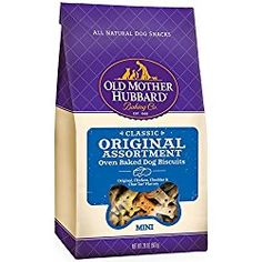Price: (as of - Details) Old Mother Hubbard Crunchy Classic Natural Dog Treats are wholesome, all natural dog bone shaped dog biscuits oven-baked to pres Dog Biscuits, Cookies Et Biscuits, Old Mother Hubbard, Dog Storage, Small Oven, Large Oven, Natural Dog Treats, Dog Snacks, Oven Baked