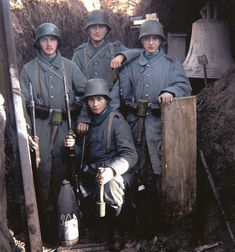 81 Likes, 2 Comments - Colors of Wars Ww1 History, Military History, History Pics, World War One, First World, Old Warrior, German Soldiers Ww2, German Uniforms, Kaiser