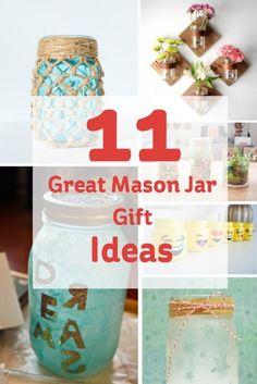 25 Great Mason Jar Gift Ideas