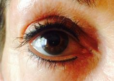 Permanent Makeup Eyeliner by Dale Hall with Lilash for enhanced lashes.