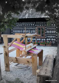 Tkací stroj, Čičmany, Slovakia Slovenia, Czech Republic, Castles, Travelling, Nostalgia, Coast, Culture, Outdoor Decor, Christmas