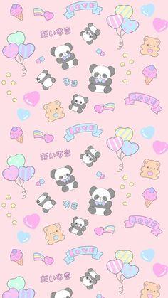 animals, art, background, bears, beautiful, beauty, cartoon, cute animals, drawing, fashion, fashionable, illustration, inspiration, kawaii, luxury, panda, pastel, pattern, patterns, pink, pretty, sugar, sweet, sweets, texture, wallpaper, wallpapers, we h