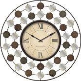 """Found it at Wayfair - 20"""" Shasta Wire Wall Clock"""