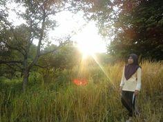 #sunrise #hijab #beautifulmoment