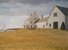Cruising the Coast by Marieluise Hutchinson Oil ~ 18 x 24