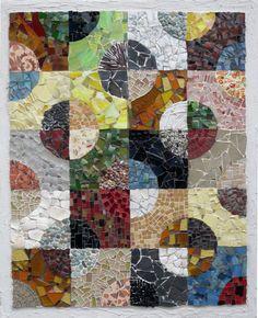 Mosaic Quilts by mosaic artist, Cynthia Fisher - B I G� B A N G� M O S A I C S