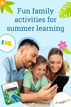 Learn new skills and have fun all summer long with these helpful resources! Summer Activities, Family Activities, Vocabulary List, Rest And Relaxation, Math Skills, New Words, Summer Fun, Parenting, Learning