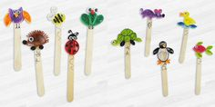 Quilled Animal Bookmarks