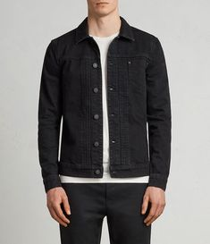 Men's jackets really are a very important component to every man's clothing collection. Men have to have jackets for assorted situations as well as some climate conditions. Men's Jacket Stylish. 1950s Jacket Mens, Cargo Jacket Mens, Green Cargo Jacket, Grey Bomber Jacket, Leather Jacket, Big Men Fashion, Men's Fashion, Fashion Types, Jean Jacket Outfits