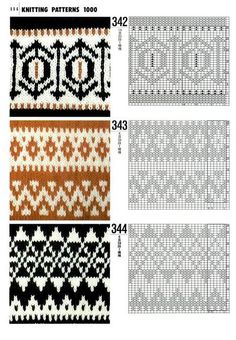 1000 Knitting Patterns Ebook Download : 1000+ images about Knit Up: Stranded Knits or Fair Isle Charts on Pinterest ...
