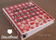 My Wildtree Freezer Meals Coolbook | Do you have trouble getting a meal on the table at dinner time? Come see how I solved my dilemma with Wildtree Freezer Meals!