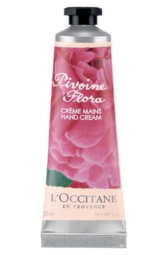The perfect pocket size hand cream with peony extract | L'Occitane.