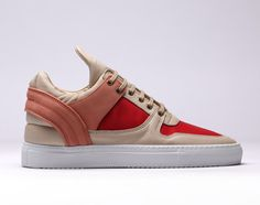 Filling Pieces Low Top Transformed – Peach