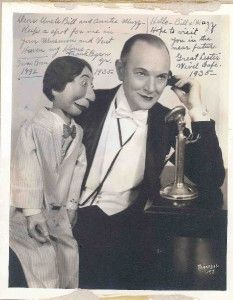 Vent Haven Museum | The Great Lester ---Harry Lester (1878 – 1956), born Maryan Czajkowski in Poland, best known by his stage name The Great Lester, was a seminal vaudeville ventriloquist.