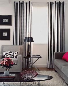 1000 images about cortinas on pinterest curtains for Cortinas modernas para sala