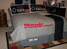 Could This Be The Perfect Bedding Set For The Ultimate Nintendo Fan? Or  Will It Virtually Guarantee You Have No Player Either Way, Youu0027d Best Be  Careful Not ...