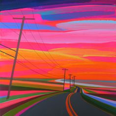 Sunset On Old Montauk Highway by Grant Haffner on Paddle8. Paddle8 is a marketplace for collectors, presenting auctions of extraordinary art and objects.