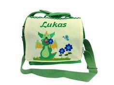 """Rucksäcke - NEU-Kinderrucksack/Kindertasche""""Drache"""" - ein Designerstück von magicneedles bei DaWanda"""