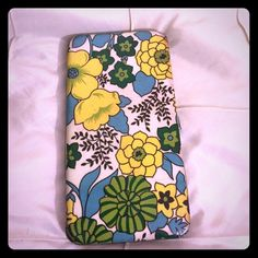 Flower Power Wallet Groovy wallet with a fun floral pattern. Has some wear on the corners as seen in photo #4 Bags Wallets