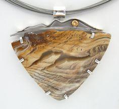 Fossilized Sequoia Pendant