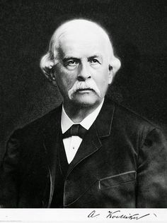 On July 6, 1817, Swiss anatomist and physiologist Albert von Kölliker was born. He was one of the founders of embryology